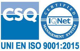 Azienda certificata iso 991-2015